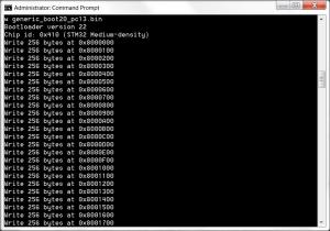 Load bootloader